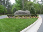 The entrance to the Billy Graham Library