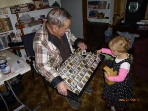 Brian's Grandpa with E when she was 2.